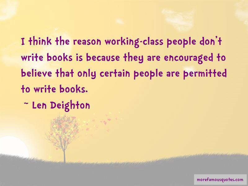 Len Deighton Quotes Pictures 3