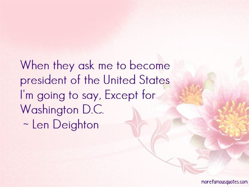 Len Deighton Quotes Pictures 4