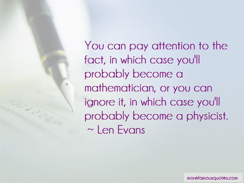 Len Evans Quotes Pictures 2