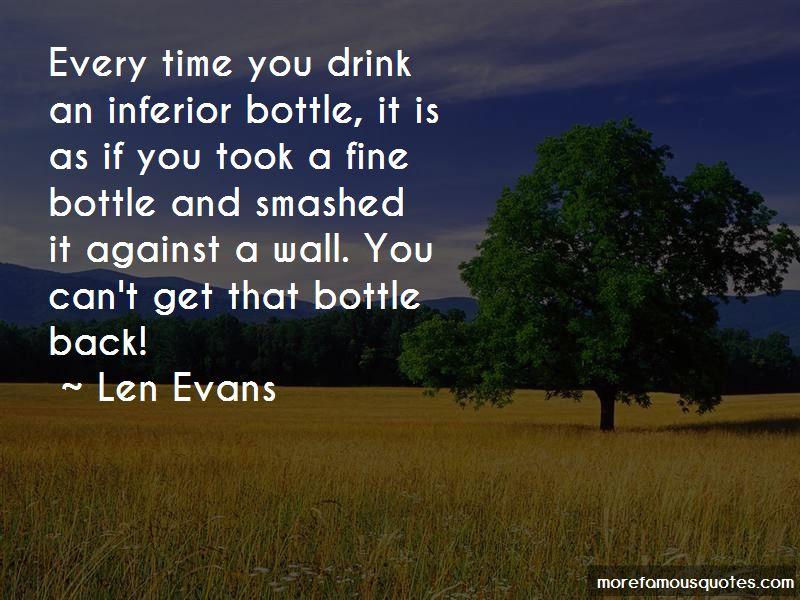 Len Evans Quotes