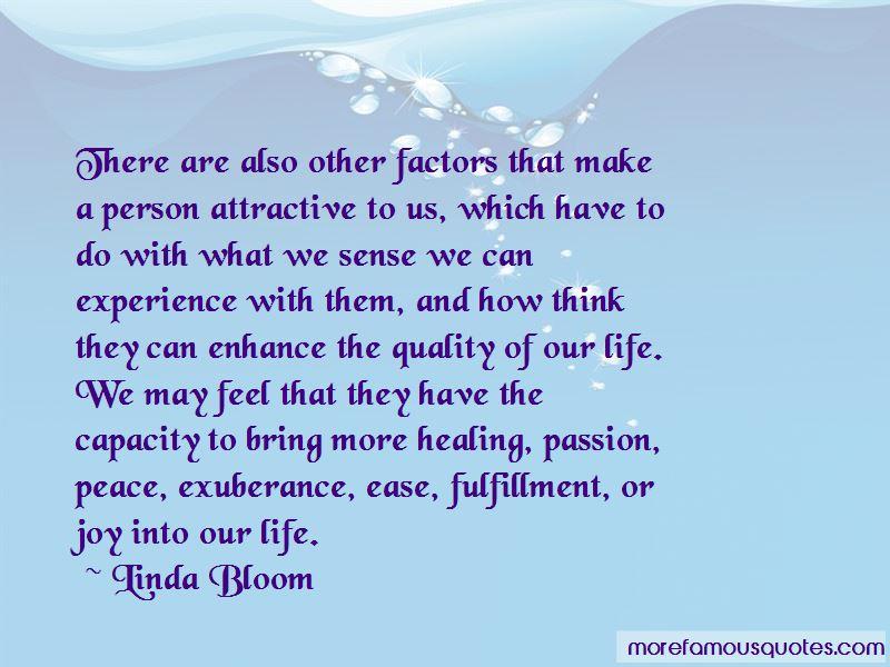 Linda Bloom Quotes