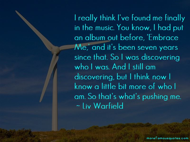 Liv Warfield Quotes Pictures 3