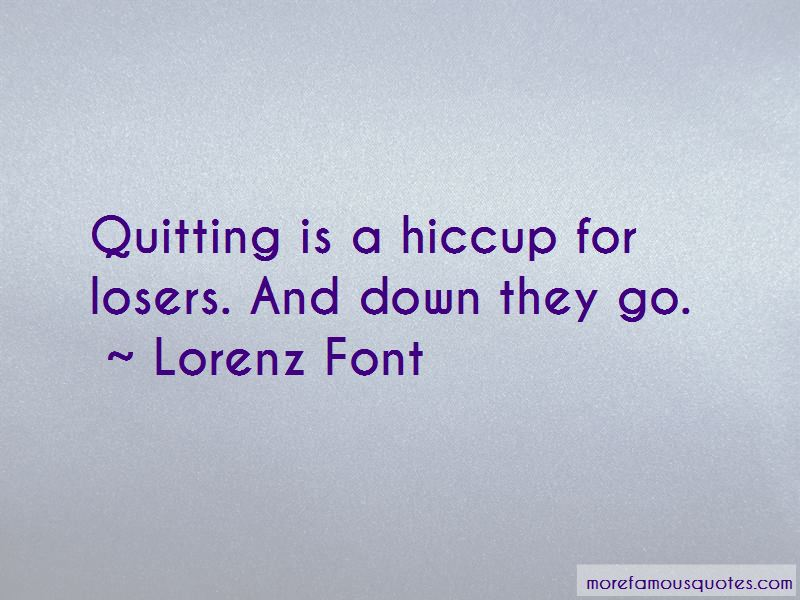 Lorenz Font Quotes