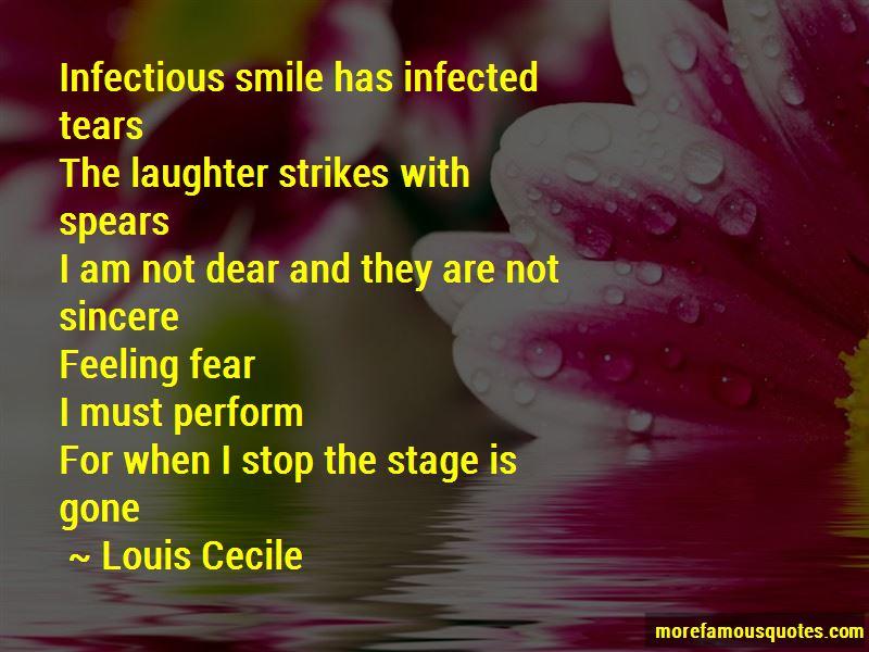Louis Cecile Quotes