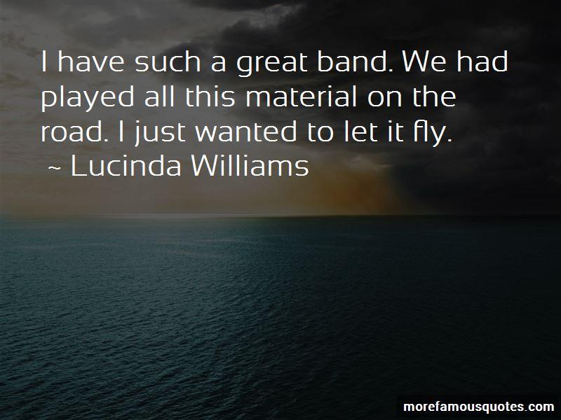 Lucinda Williams Quotes Pictures 3