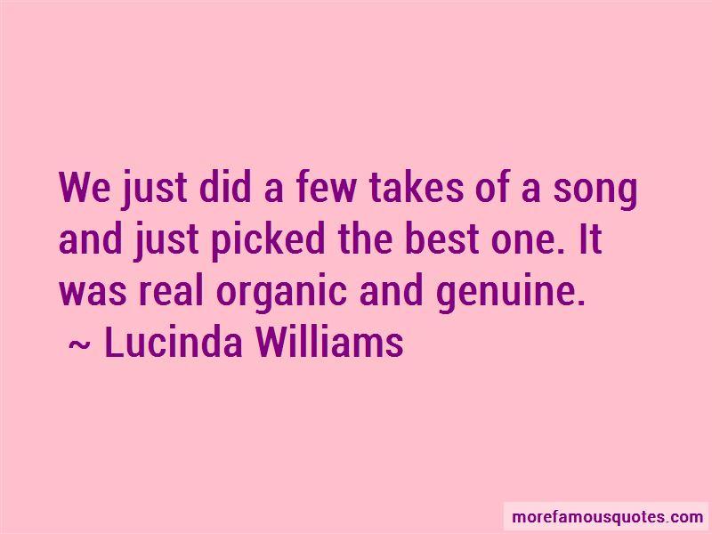 Lucinda Williams Quotes