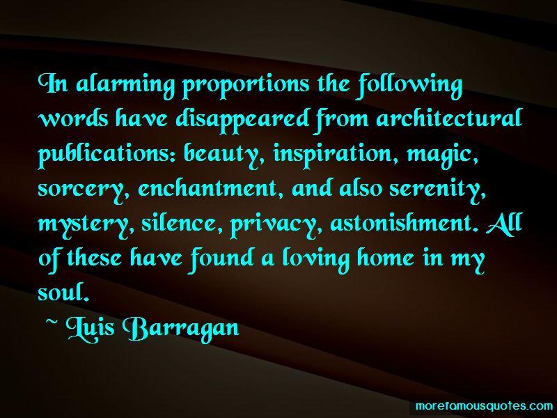 Luis Barragan Quotes
