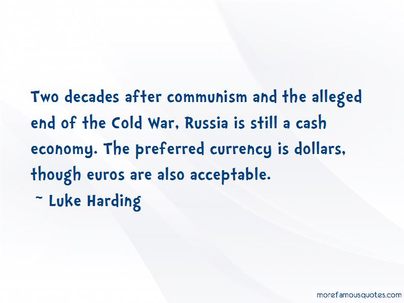 Luke Harding Quotes Pictures 2