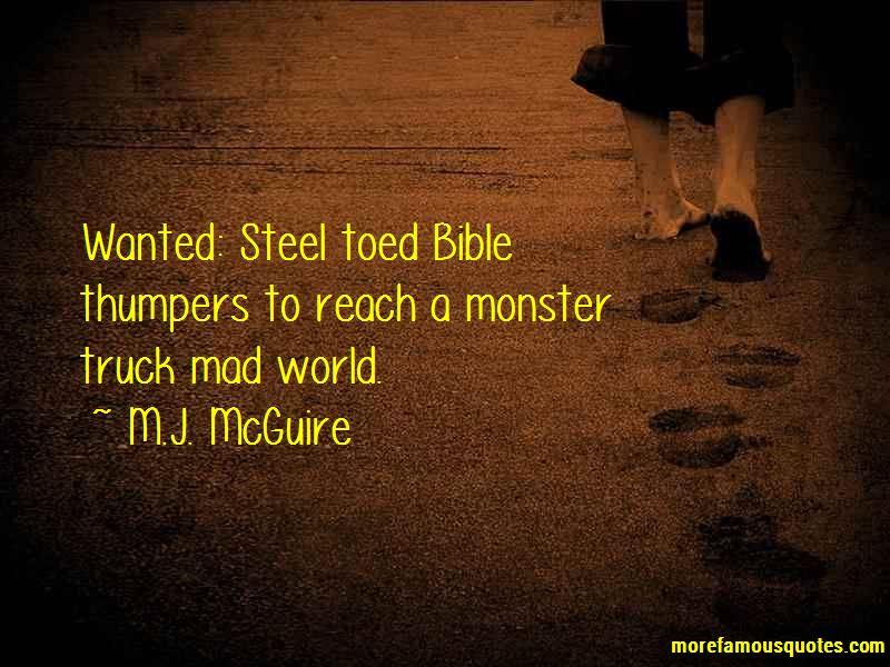 M.J. McGuire Quotes Pictures 2