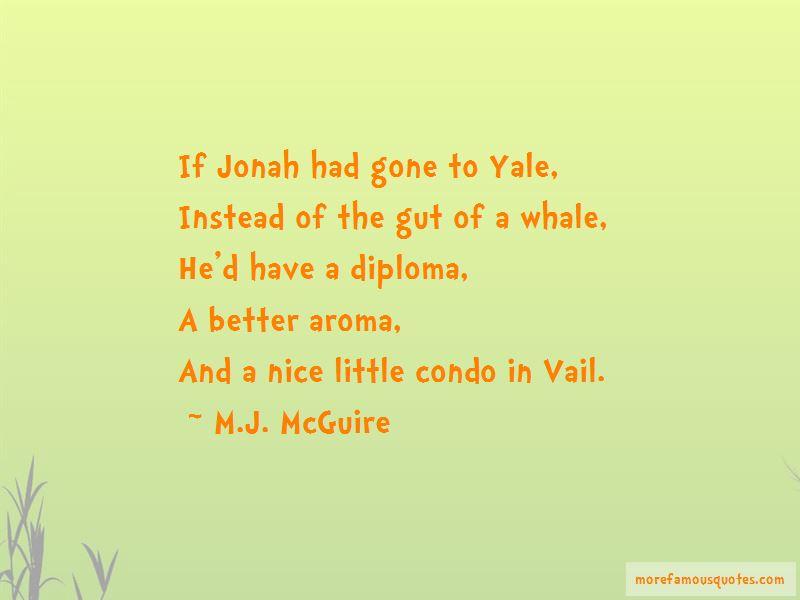 M.J. McGuire Quotes