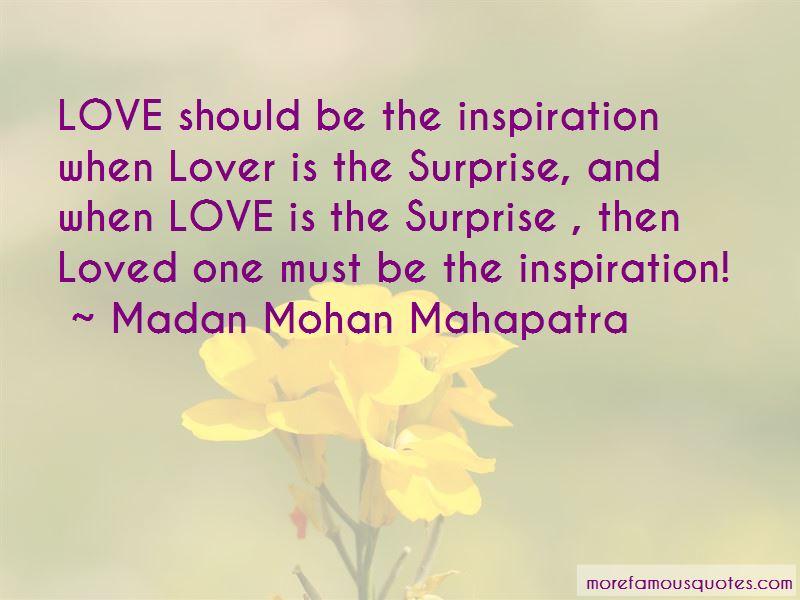 Madan Mohan Mahapatra Quotes