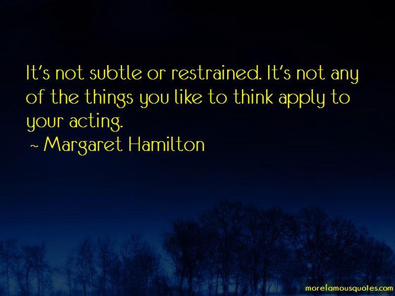 Margaret Hamilton Quotes