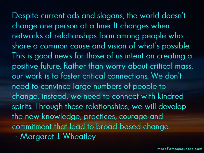 Margaret J. Wheatley Quotes Pictures 2