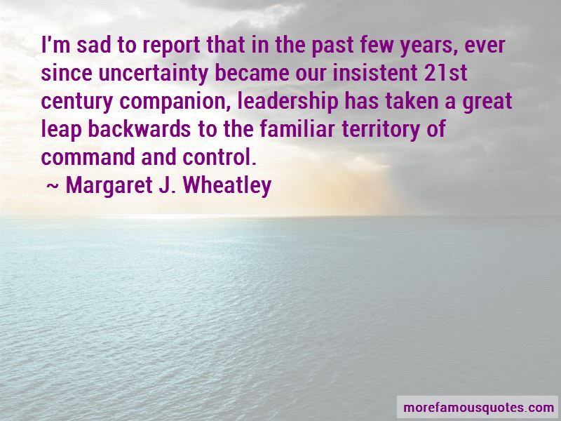 Margaret J. Wheatley Quotes Pictures 3