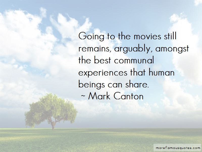 Mark Canton Quotes Pictures 2