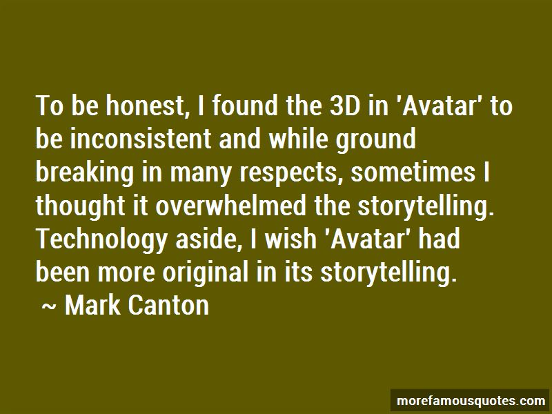 Mark Canton Quotes