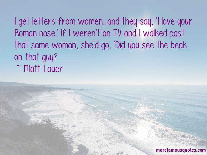 Matt Lauer Quotes