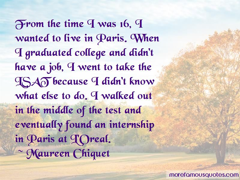 Maureen Chiquet Quotes Pictures 2