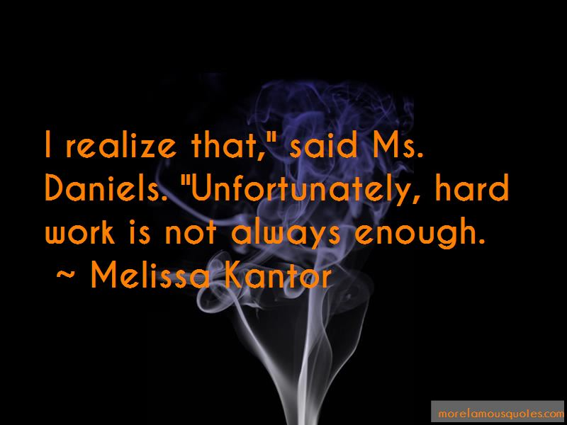 Melissa Kantor Quotes Pictures 2