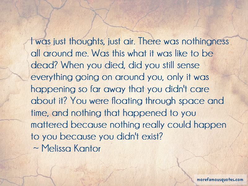 Melissa Kantor Quotes