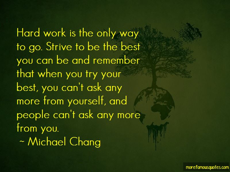 Michael Chang Quotes Pictures 3