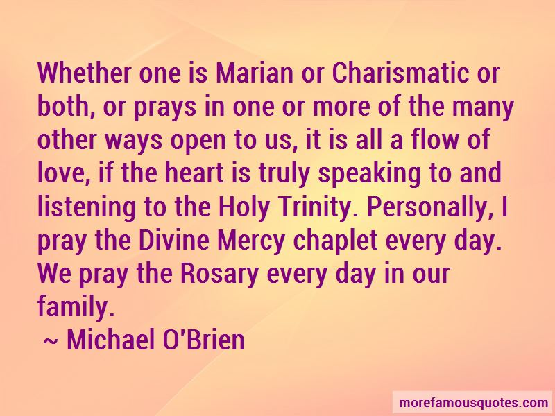 Michael O'Brien Quotes Pictures 2