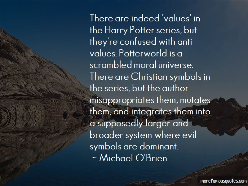 Michael O'Brien Quotes Pictures 3