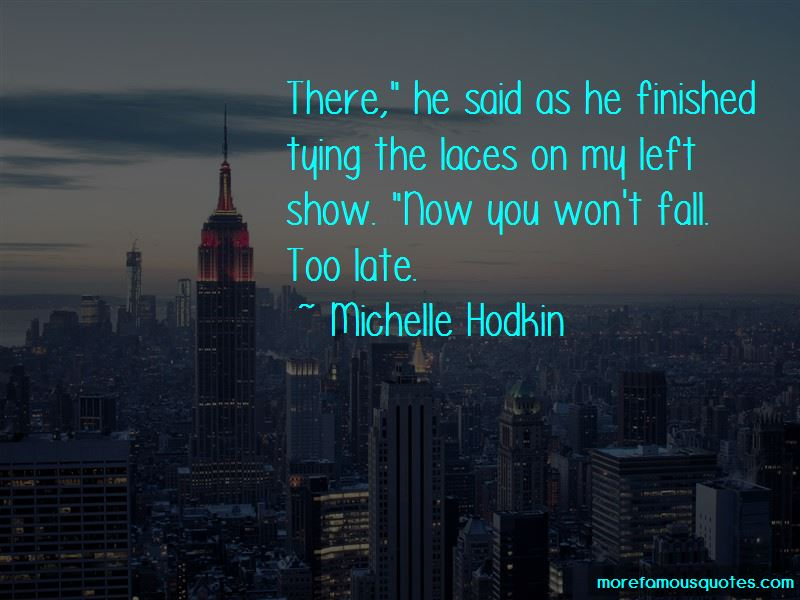 Michelle Hodkin Quotes Pictures 2