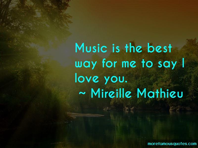 Mireille Mathieu Quotes Pictures 4