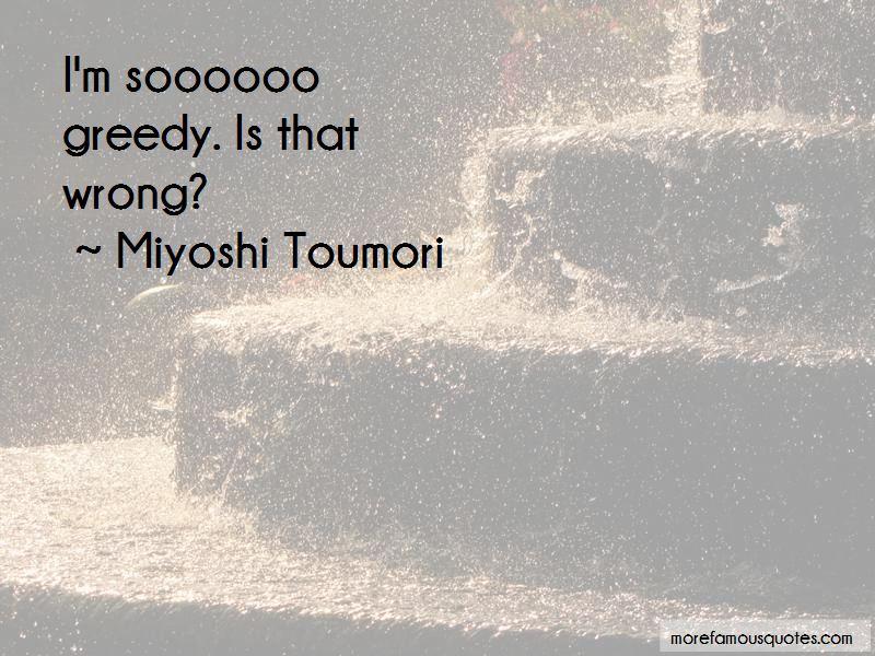 Miyoshi Toumori Quotes Pictures 2