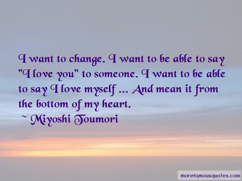 Miyoshi Toumori Quotes