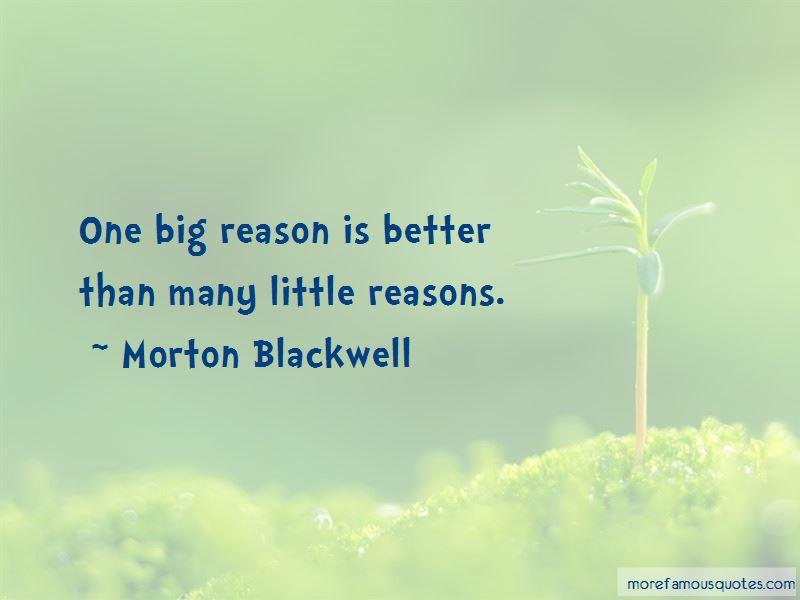 Morton Blackwell Quotes