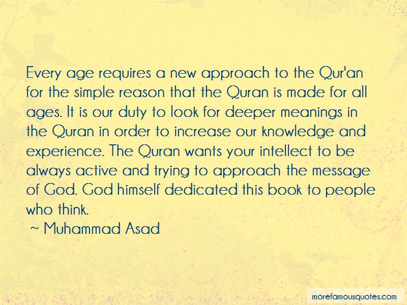 Muhammad Asad Quotes Pictures 3