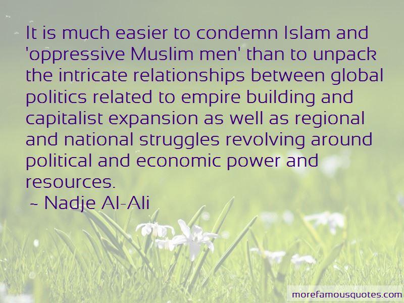Nadje Al-Ali Quotes Pictures 3