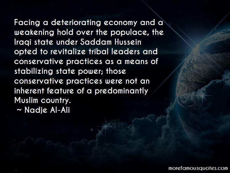 Nadje Al-Ali Quotes