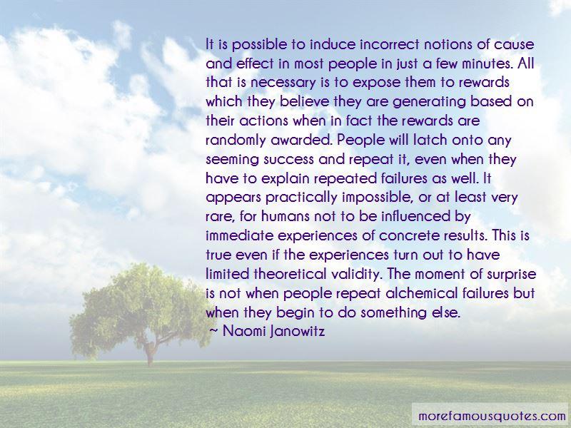Naomi Janowitz Quotes