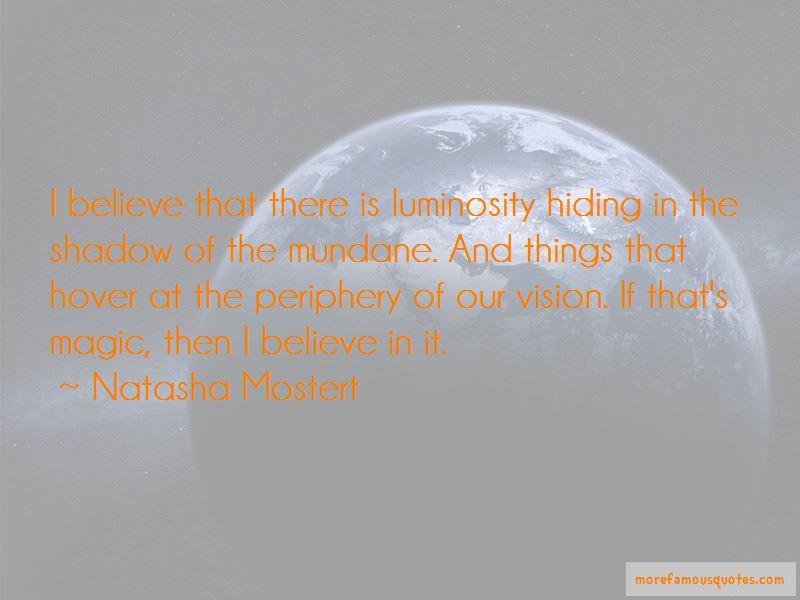 Natasha Mostert Quotes