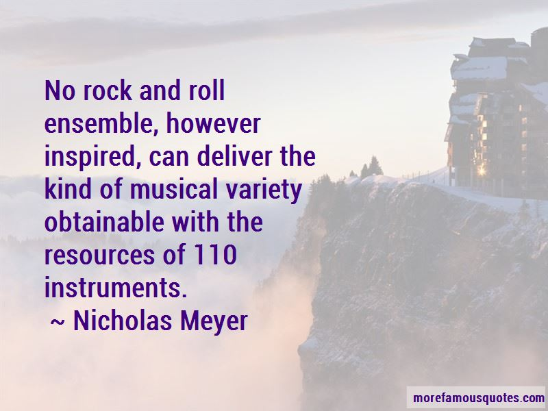 Nicholas Meyer Quotes Pictures 2
