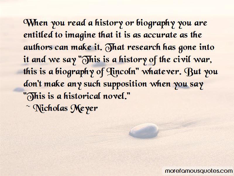 Nicholas Meyer Quotes Pictures 3