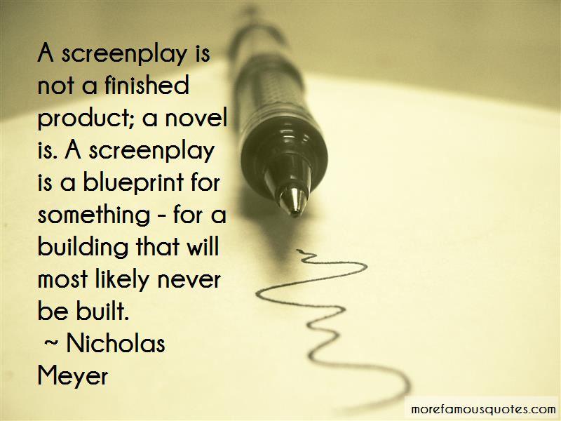 Nicholas Meyer Quotes Pictures 4