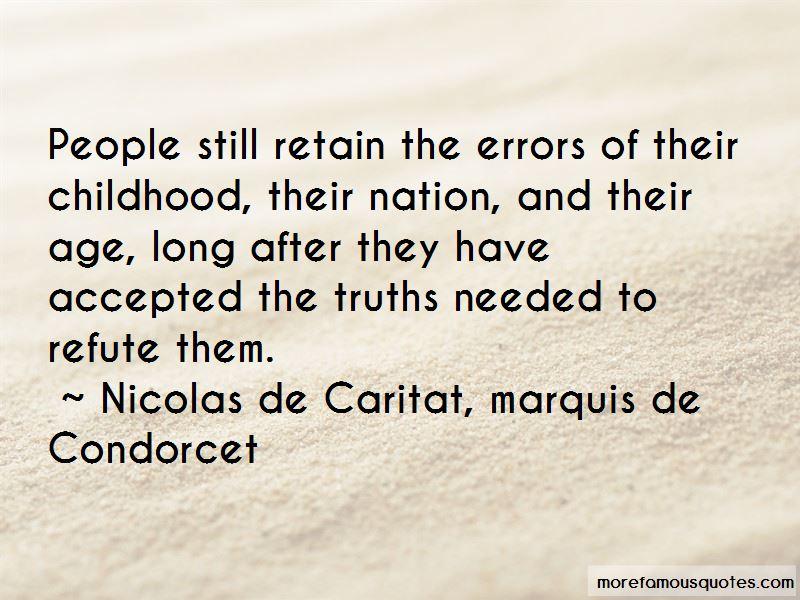 Nicolas De Caritat, Marquis De Condorcet Quotes Pictures 4