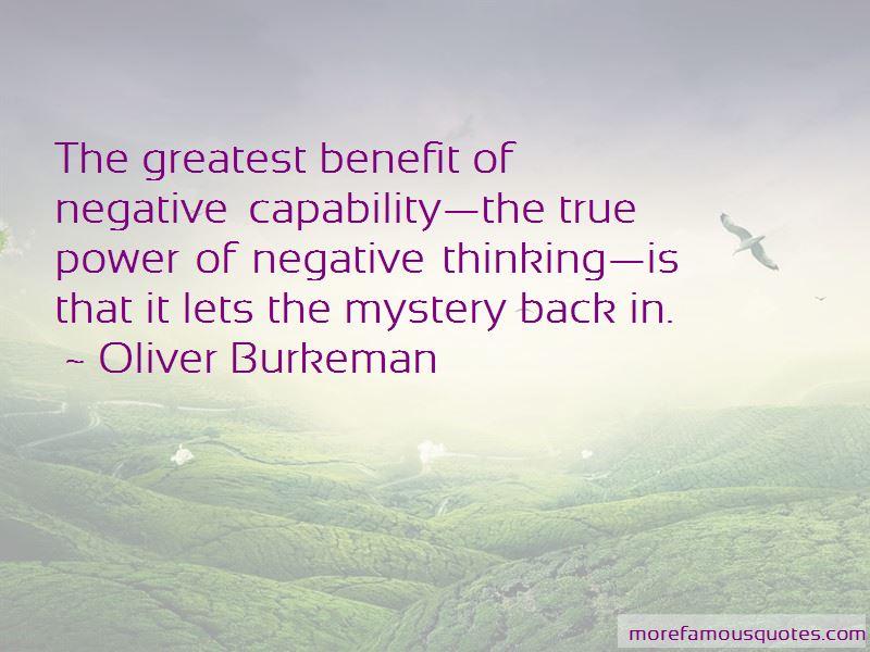 Oliver Burkeman Quotes