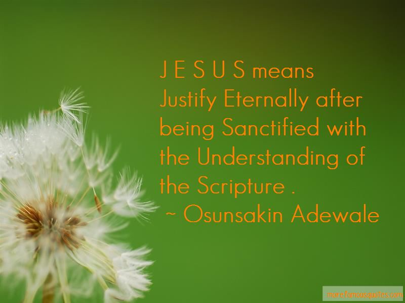 Osunsakin Adewale Quotes Pictures 2