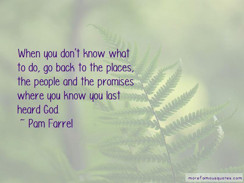 Pam Farrel Quotes Pictures 2