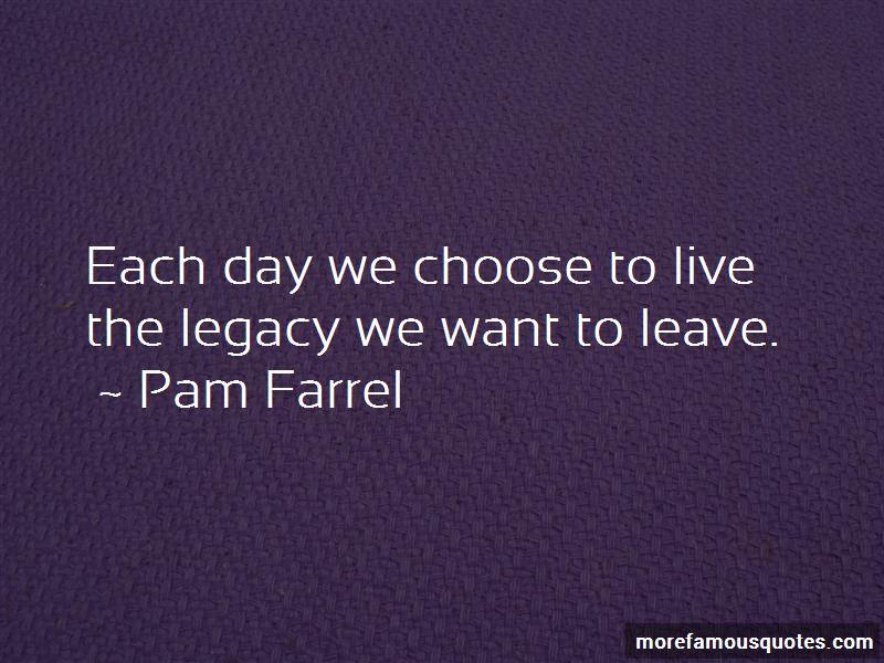 Pam Farrel Quotes Pictures 3
