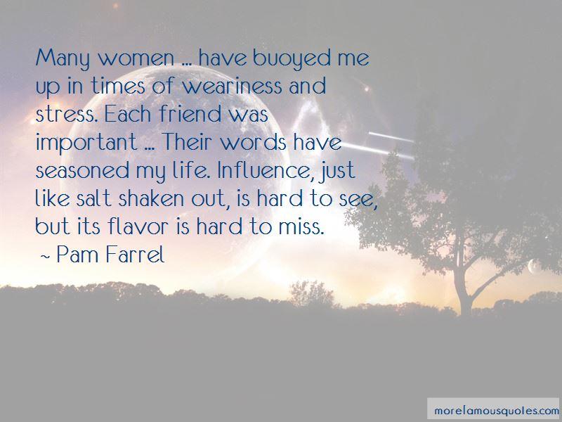 Pam Farrel Quotes