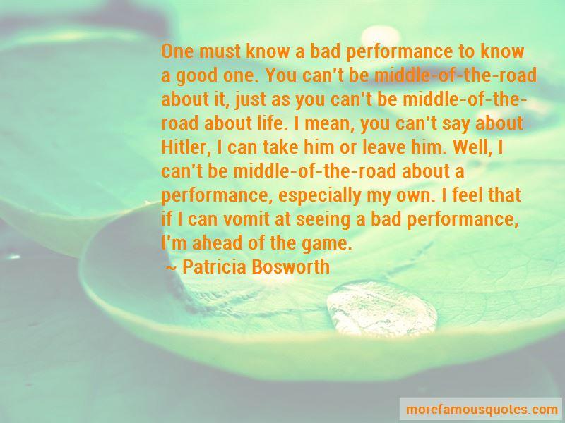Patricia Bosworth Quotes