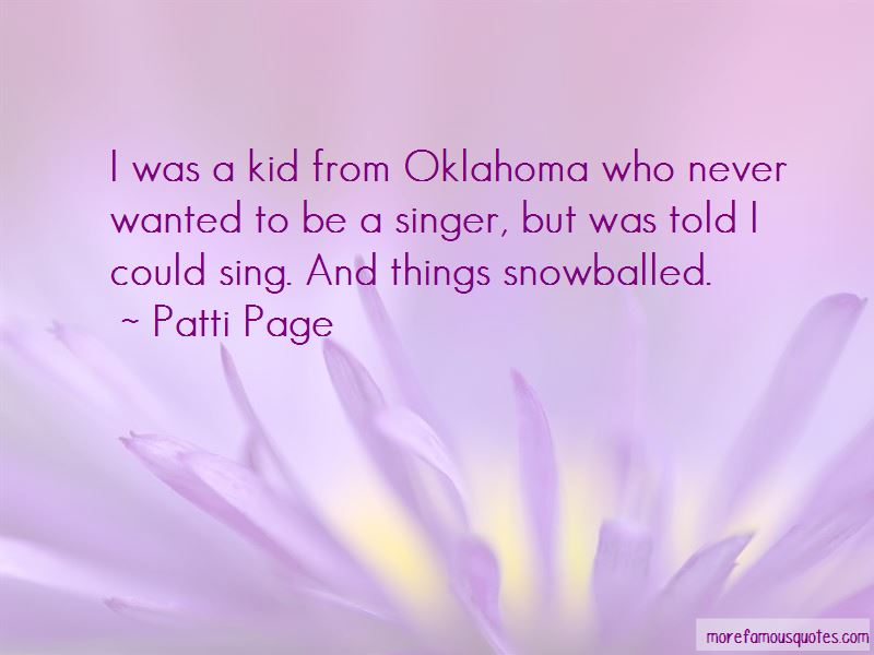 Patti Page Quotes Pictures 4