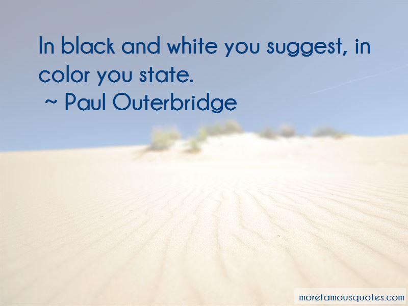 Paul Outerbridge Quotes Pictures 2