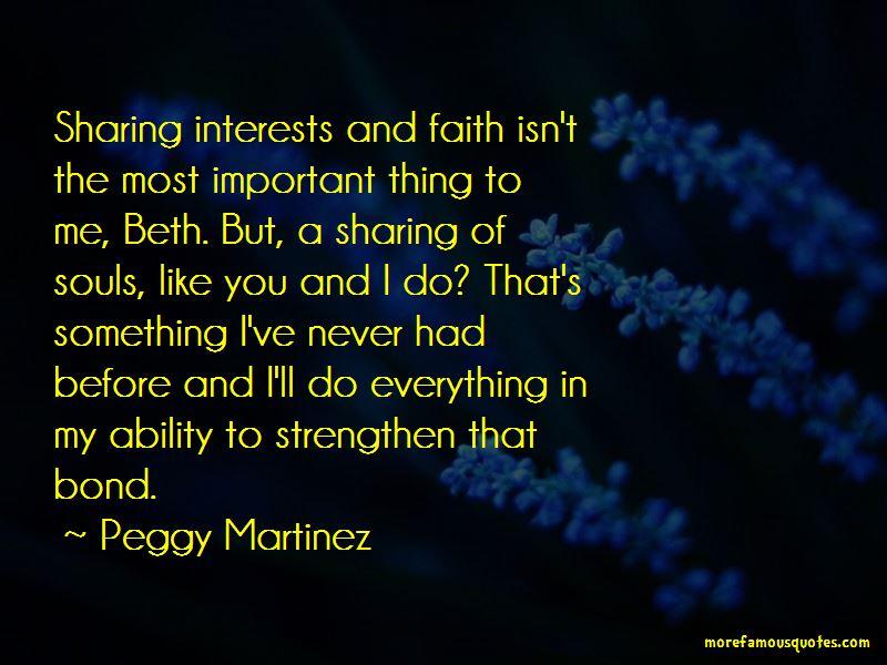 Peggy Martinez Quotes Pictures 2